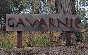 Gavarnie sign at the farm