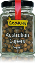 50g bottle of Gavarnie Australian Capers